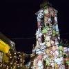 Gyertyagyújtás, fények és tánc a Fő téren
