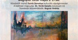 Pistyur Gabriella kiállítása a Városházán