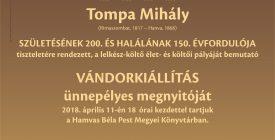 Költészet Napja és Tompa Mihály nap a könyvtárban