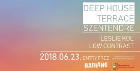 Deep house terrace