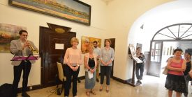 Pistyur Gabriella kiállítása a Városház Galérián