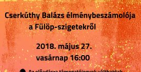 Balázsia - Cserkúthy Balázs élménybeszámolója
