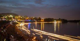 Gyertyaúsztatás a Dunán - Szentendre Éjjel-Nappal Nyitva fesztivál