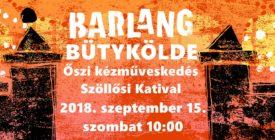 Bütykölde - Őszi kézműveskedés Szöllősi Katival