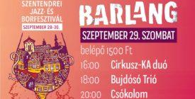 Barlang szombati koncertek @Szentendrei Jazz- és Borfesztivál