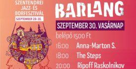 Barlang vasárnapi koncertek @Szentendrei Jazz- és Borfesztivál