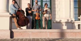 Ötödik évszak klub vendég Dresch Vonós Quartett