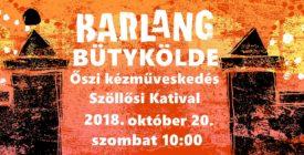 Bütykölde kézműves foglalkozás Szöllősi Katival