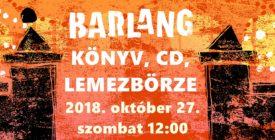 Könyv, CD, lemezbörze @Barlang