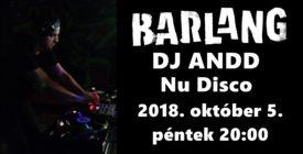 DJ ANDD @Barlang