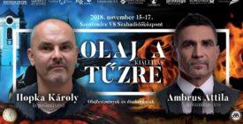Olaj a tűzre – Ambrus Attila és Hopka Károly kiállítása