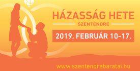 Házasság Hete Szentendrén 2019