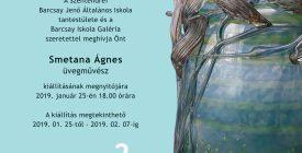 Smetana Ágnes üvegművész kiállítása