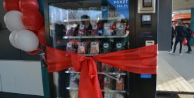 POKET könyvautomata Szentendrén is