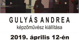Gulyás Andrea kiállítása a moziban