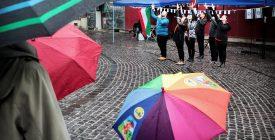 Ének az esőben – az ARIEL énekes csoport Szentendrén