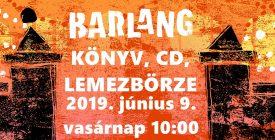 II. Könyv-, CD-, Lemezbörze a Barlangban!
