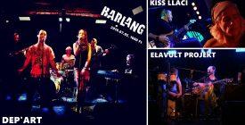 Kiss Llaci / Elavult Projekt / Dep'Art @Barlang