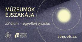 Múzeumok éjszakája 2019