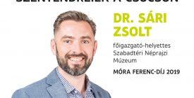 A molinón: dr. Sári Zsolt muzeológus