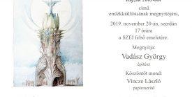 Makovecz-kiállítás a SZEI Galériában