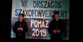 Szentendrei győztesek az országos szaxofonversenyen