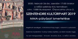 Kultúrpart 2019 a Magyar Építőművészek Székházában