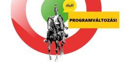 Programváltozás március 15-én