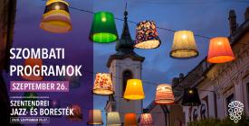 SZOMBAT // Szentendrei Jazz- és Boresték