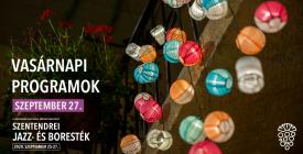 VASÁRNAP // Szentendrei Jazz- és Boresték