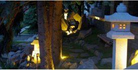"""""""Fények sötétedés után"""" – japánkert esti fényekkel"""