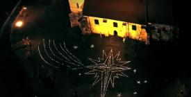 Betlehemi csillag Szentendrén