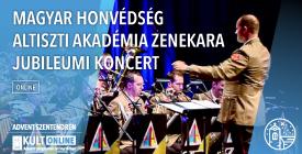 MHAA Zenekar jubileumi koncert / Advent Szentendrén 2020