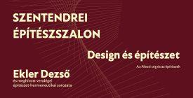 Egyelőre online folytatódik a Szentendrei Építészszalon