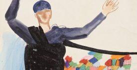 Jelmeztervek, szitanyomatok, rajzok Szentendréről és a 20. századból