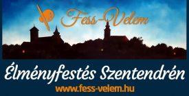 Fess-Velem! élményfestés // Szentendrei Ister Napok 2021